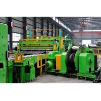 Cheap 16mm X 2200mm Steel Coil Cut To Length Line Galvanized Steel Coil Slitting Machine for sale