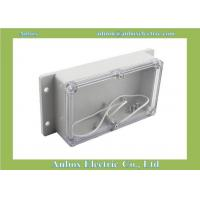 Cheap 158*90*46mm wall mounting plastic abs electrical junction clear wall mounted electric box for sale