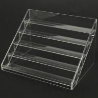 Cheap 13 Years Factory Clear Acrylic Nail Polish Table Display Rack / Acrylic Nail Polish stand for sale
