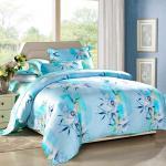 Cheap Modern 4pcs Home Bedroom Bedding Sets 100 Percent Cotton Fabric Tancel Duvet Cover Sets for sale