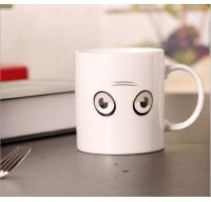 Cheap Porcelain Sublimation Heat Sensitive Color Changing Mugs For Home Decoration for sale
