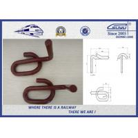 Quality Pandrol clip GL1419 60Si2Mn Baking Finish Red Paint 0.5kg per Unit wholesale