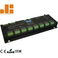 Cheap 32 Channels Black LED DMX512 Decoder For RGBW Lighting Constant Voltage PWM Signal for sale