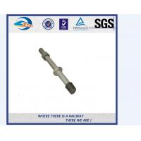 Cheap SS201 SS303 Stainless Steel Double Thread Bolt And Nut For Railway for sale
