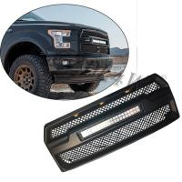 Cheap Raptor Style Auto Front Grill Mesh with 120w LED Bar For Ford F150 2015-2017 for sale