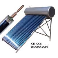 Cheap stainless steel heat pipe pressurized solar water heater for sale