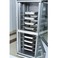 China Custom 10 Trays Luxury Electric Food Warmer Cabinet , Mobile Heated Cabinet on sale
