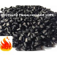 Cheap flame-resistant LDPE recycled granules black v-0/v-1 for sale