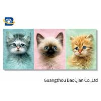 Cheap Home / Hotel Wall Photo 3D Effect Printing Lovely Cat / Dog Stereograph for sale