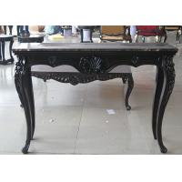 Cheap Black Wooden Consoles Table For Modern Hotel Luxury Living Room Furniture for sale