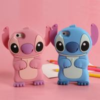 Cheap Iphone6/6 plus phone cases Stitch silica gel set apple 6 following cartoon phone set for sale