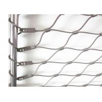 Cheap Flexible X-tend Ferruled Stainless Steel Wire Rope Mesh For Balcony Balustrade for sale