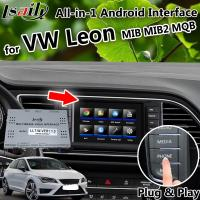 China 32GB Volkswagen video interface for Leon Seat MQB MIB MIB2 with phone mirroring , apple carplay , Android auto , waze on sale