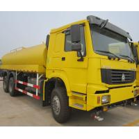 China 6x4 Liquid Tanker Truck , 20 Cubic Meters Watering Cart Sprinkler Truck on sale