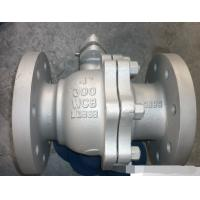Quality ANSI 300LB Flanged Ball Valve , API608 Carbon Steel Floating Type Ball Valve wholesale