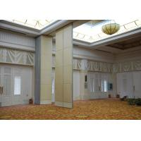 Cheap Veneer Gypsum Acoustic Folding Partitions , Accordion Folding Partitions For Restaurant for sale