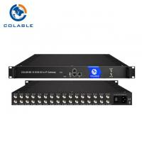 Buy cheap 16 CH DVB S2 ISDB T DVB IP Gateway With IP MPTS SPTS Output COL5816B Durable from wholesalers