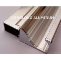 Cheap Square Polished Aluminum Alloy Extrusions With Strong Stability for sale