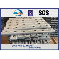 Cheap TUV Oxide Black Forging 4 Holes 50# Joint Bar Fishplates In Railway Tracks for sale