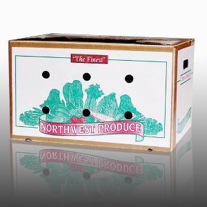 Cheap Wax Box/ Wax Carton/ Waterproof Carton/ Vegetable Carton for sale