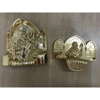 Cheap PP new material casket accessories corner coffin furniture corner22# gold silver Or Copper for sale