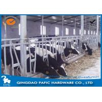 Buy cheap Livestock Farm Locking Feed Barriers / Steel Galvanized Cattle Headlock Plan from wholesalers