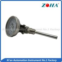 China Universal Mount Industrial Bimetal Thermometer / Mini Dial Faced Bimetal Thermometer on sale