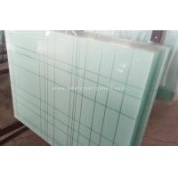 Cheap 6.38mm - 40.3mm CE and ISO9001 Curtain Wall Tempered Laminated Glass For Home wholesale