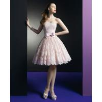Cheap Pink Lace Short dress Homecoming Cocktail Prom Dresses Graduation Prom Gowns for sale