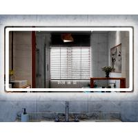 Cheap Hotel Bluetooth smart mirror wall bathroom LED equipped with light anti-fog mirror for sale