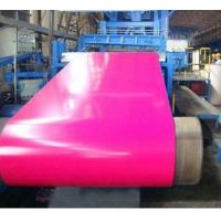Cheap RAL Color Zinc Coated Pre Painted Steel Sheet In Coils 700mm - 1250mm Width wholesale