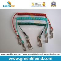 Buy cheap Muti-Colors Plastic Retention Rope Chain w/Snap Big Hook Security Stretch Tool Lanyards from wholesalers