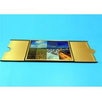 Cheap Hardcover Book Printing Services with Golden Edge Sewing Binding 210mm x 297mm for sale