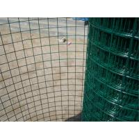Economic Green PVC Coated Wire Mesh Rolls , Welded Wire Fence For Fencing