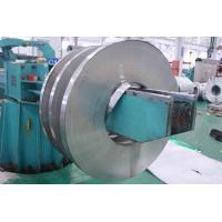 Cheap 201 / 410 BA Stainless Cold Rolled Steel Strip With Slit Edge , PVC Coated for sale