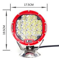 7inch 105W Off road LED Work Light 4x4 Jeep Driving Light Truck Work Light