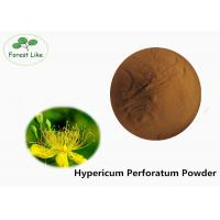 Cheap Anti-virus Hypericum Perforatum Plant Extract Powder 0.3% Hypericin by UV for sale