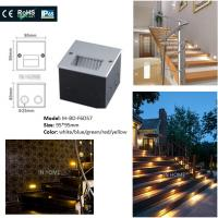 Cheap Square Shape 5730SMD Recessed LED Wall For Stair Lights Indoor / Outdoor Step wholesale