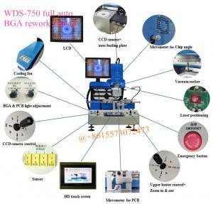 China WDS-750 High Performance BGA Rework Station Repair Integrated Circuit Chip Machine on sale