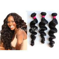 Cheap Natural Wave Real Brazilian Human Hair , Grade 8A Virgin Hair Without Chemical for sale