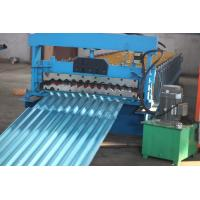 Cheap Corrugating Iron Roofing Sheet Making Machine Metal Roofing Equipment 8m/min - 12m/min for sale