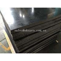 China Heavy duty non-slip rubber plate , plain and grip top shock absorption rubber mat roll on sale