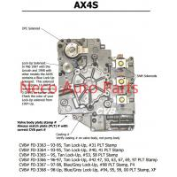Cheap Auto transmission AX4S sdenoid valve body good quality used original parts for sale