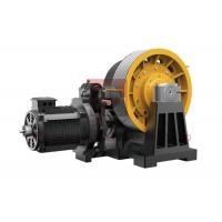 Cheap 45kw Geared Elevator Traction Machine For Cargo Lifts 0.5~2 M/S for sale