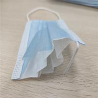 Cheap 19.5*7.5cm Small Size Convenient 3 Ply Non Woven Face Mask for sale