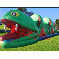 Cheap Frog Rent Large Inflatable Obstacle Course for sale