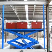China China Tavol 3.7 m Stationary Scissor Lift of Hydraulic Car Scissor Lifts on sale