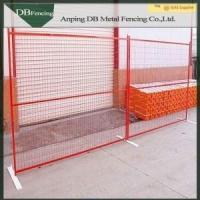 6ft*9.5ft welded and galvanized canada temporary fence