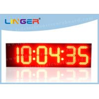 China Iron Frame LED Countdown Timer / Large Display Digital Timer With Loud Siren on sale