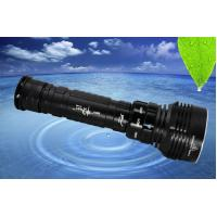 Buy cheap SY-088 5*XML2 4500LM led dive flashlight, 6500k waterproof underwater 100m scuba diving torch from wholesalers